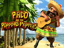 Пако И Трещащие Перцы: играйте на рубли, выводите на карту
