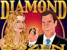 На стартовый депозит бонусная игра Алмазная Дюжина онлайн