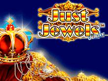 Платно игра с бонусами Просто Драгоценности Делюкс в казино